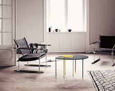 Kangourou occasional tables by Mathieu Mategot. Available at SUITE New York.