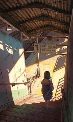It's hard to look at the illustrations of Kouki Ikegami and not feel as if you're looking at the concept art for a gorgeous anime film. Wallpaper Aesthetic, Aesthetic Art, Aesthetic Anime, Aesthetic Painting, Aesthetic Black, Aesthetic Vintage, Korean Aesthetic, Aesthetic Drawing, Art Anime Fille