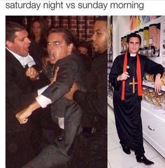 Hitting out:She used a meme featuring US reality star Scott Disick, showing two images of...