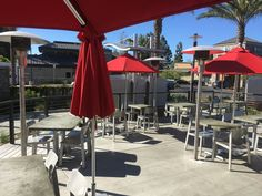 """Another fine dining establishment utilizing the Sunglo PSA265 SS 24v """"E"""" patio heater with the underground vault box.  Can you find the vault box?"""