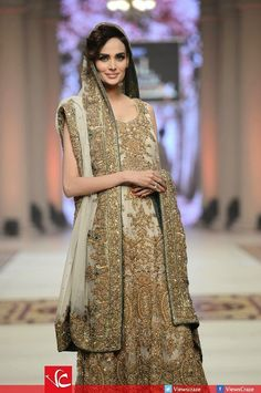 Pakistani designer bridal dress ~ Pak Fashion