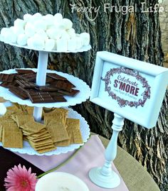 "Photo 16 of 21: Vintage Shabby Chic, Rustic / Wedding ""Fall Rustic Vintage Outdoor Fancy Frugal Wedding"" 
