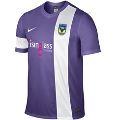Oxford United Away Kit 2013/14- Nike Purple Football Kits, Nike Football, Football Cards, Football Jerseys, Oxford United Fc, Championship League, New Oxford, Everton Fc, Home And Away