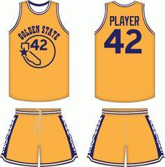Golden State Warriors Sports Uniforms 7a5b65beb