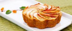 Bolo de maçã sem farinha
