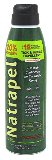 Natrapel 0006-6878 8 Hour Insect Repellent 5oz Spray (3 Pack)