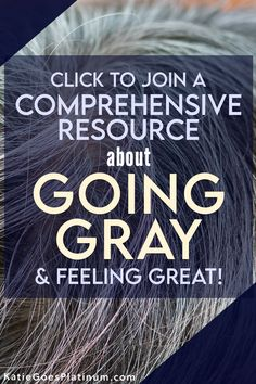 Are you tired of chasing your roots? Sick of spending a ton of money on hair dye, or worried about the health effects of pouring chemicals onto your head every few weeks? Then it might be time to think about growing out your gray hair! Click here to find out how to start your gray hair journey. Grey Hair Journey, Transition To Gray Hair, Transitioning Hairstyles, Going Gray, Hair Dye, Ready To Go, Female Images, Silver Hair, Feeling Great