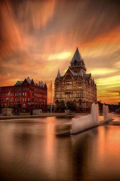 City on Glass by Jody Grenier on 500px #Syracuse #NY #USA
