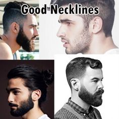 good beard neckline