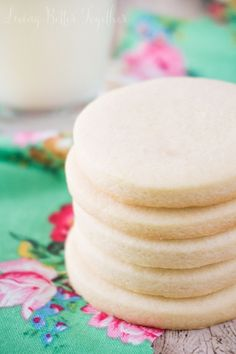 There's just something about those Classic Sugar Cookies made from scratch just like grandma used to make. This simple recipe is perfect for decorating for the holidays!