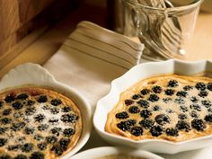 Summer Blackberry Custards   Alain Coumont makes these ethereal, citrusy custards with wild blackberries gathered from his property. Try them with blueberries, raspberries or pitt...