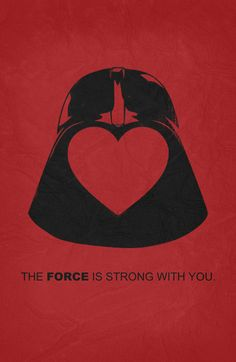 star wars valentines   Star Wars - Valentine Poster Art Print by Misery   Society6