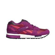 c6aa95da87a Reebok - WOMANS GL 6000 - Runner - Low Top Sneaker - Rot   Weiß-38
