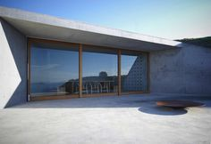 Wiroa Station Wine Cellar Design by MAP Architects Description from Designers : The building is a simple viewing platform, and wine tasting room for the use of residents of a small beach side development in the far north of New Zealand. Restricted to 25m2 due to local planning regulations, and set in to the hill …