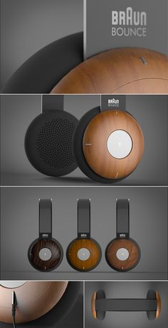 Braun Bounce Headphone - Product Design | https://www.behance.net/rasam