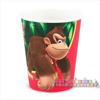 Donkey Kong Paper Cups  http://hardtofindpartysupplies.com/Donkey-Kong-Party-Supplies/Donkey-Kong-Paper-Cups-Nintendo-Party