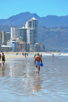 Nothing beats strolling bare feet on Strand beach's wet sand on a hot summer day in December! Cape Town - On the finest all year round Nordic Walking Peninsula in the World Best Family Beaches, Africa Destinations, Nordic Walking, Cape Town South Africa, Beach Road, Beaches In The World, Most Beautiful Beaches, Coastal Living, Amazing Nature