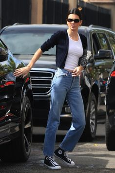Kendall Jenner Outfits, Kendall Jenner Mode, Celebrity Style Casual, Celebrity Outfits, Estilo Jenner, Star Fashion, Fashion Outfits, Fashion Sets, Modell Street-style