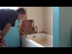 How To: Remodeling Bathroom 1 ( I love this guy!!!!)