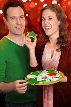 """Find out more about the Hallmark Channel Original Movie """"A Cookie Cutter Christmas,"""" starring Erin Krakow, David Haydn-Jones & Alan Thicke."""