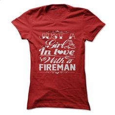 In love with a Fireman - #softball shirt #sueter sweater. BUY NOW => https://www.sunfrog.com/LifeStyle/In-love-with-a-Fireman.html?68278