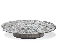 Low round Murano glass coffee table Round Glass Coffee Table, Low Coffee Table, Coffee Table Design, Contemporary Coffee Table, Modern Coffee Tables, Cafe Tables, A Table, Unique Furniture, Table Furniture