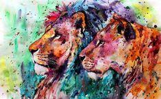 Lions2 by ElenaShved