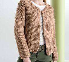 tuto veste tricot femme