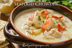 Seafood Chowder – Food Recipes