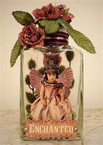 captured fairy jars - Google Search