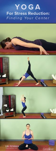 Need something to wipe away your stress? This 20-minute yoga for stress reduction video is exactly what you need. #yoga #stress