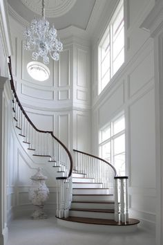I want to walk down these stairs in a beautiful evening gown and have a photo taken. Just like out of the movies.