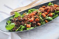 Salát s pečenou dýní a quinoou