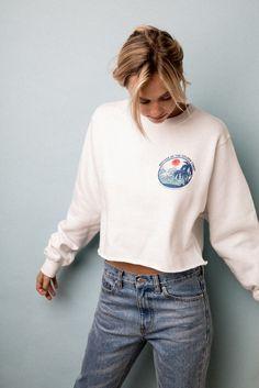Sweater. Denim.
