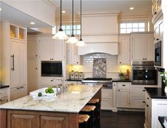 dark cabinets kitchen color scheme granite and 14428