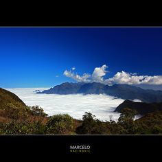 Mar de Nuvens (2400m) no Parque Nacional de Itatiaia - Brazil by marcelo nacinovic, via Flickr