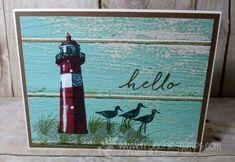 High Tide Light House Serene Scenery