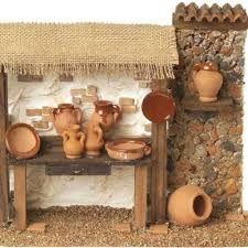 Imagen relacionada Christmas Nativity Scene, Ceramic Houses, Shadow Box, Diy And Crafts, Sicily, Minis, Portal, Medieval, Winter