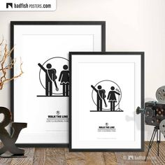 Line Love, Walk The Line, Man In Black, Black And White, Movie Prints, Art Prints, Country Music, Fisher, Do It Yourself Furniture