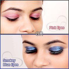 Makeup Tips, Beauty Makeup, Beauty Tips, Eye Makeup, Beauty Hacks, Fashion Hub, Pink Blue, Tutorials, Watch