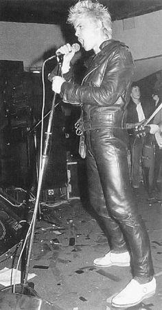 rare billy idol photos | Billy Idol