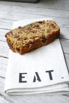 Whole Wheat Zucchini Banana Bread - perfect thing to do with your old banana and zucchini