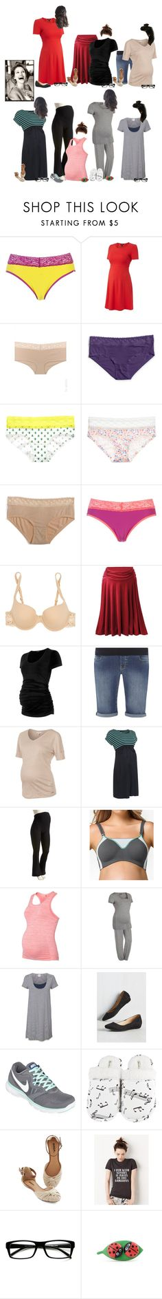 """""""Tay This Week"""" by thesummitfam ❤ liked on Polyvore featuring ExOfficio, Felina, Victoria's Secret, La Perla, Dorothy Perkins, ESPRIT, Old Navy, Cake Lingerie, NIKE and Leisureland"""