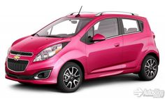 Hot Pink Chevy Spark