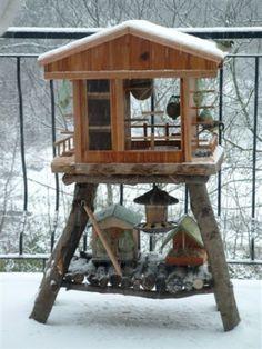 Comment réaliser une cabane à oiseaux  How to create a bird house