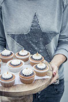 pumkin s'mores cupcakes