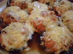 Cheesy Portobello Extravaganza!