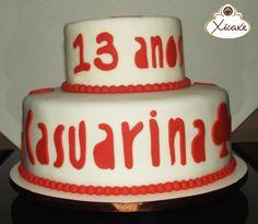 Cake Casuarina 13 anos