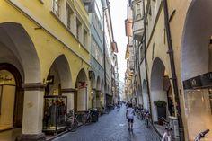 The streets of Bozen