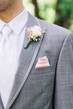 Colour scheme if bridesmaids r wearing light pink. Not sure about white tie. Photography: Rachwal Photography - rachwalphotography.com Read More: http://www.stylemepretty.com/canada-weddings/manitoba/winnipeg/2014/01/21/diy-vintage-wedding-in-winnipeg-manitoba-canada/